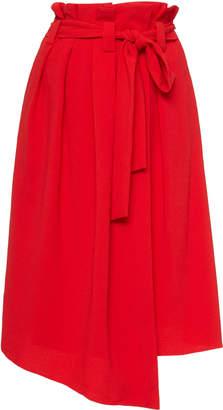 HOFMANN COPENHAGEN Roxy Wrap Midi Skirt Size: 34