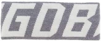 Golden Goose logo sweatband