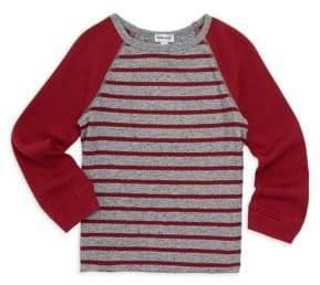 Splendid Little Boy's & Boy's Striped Raglan Top