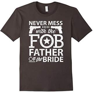 Father Of The Bride Shirt Wedding Party FOB Dad T-Shirt
