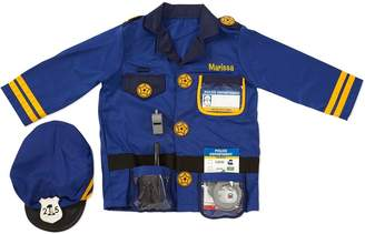 Melissa & Doug Personalized Police Officer Costume Set