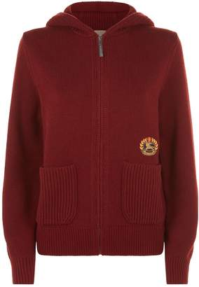 Burberry Cashmere Archive Logo Hoodie