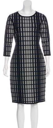 HUGO BOSS Boss by Knee-Length Textured Dress