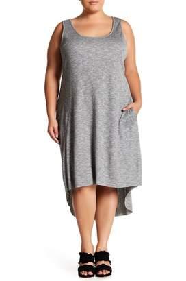 Rachel Roy Ribbed Hi-Lo Dress (Plus)