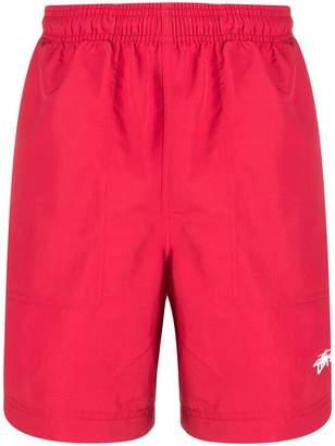 Stussy side-stripe shorts