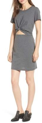 Socialite Knot Front Cutout Dress