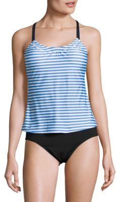 Next Stripe Tankini Top $69 thestylecure.com