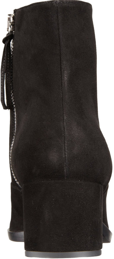 Miu Miu Pointed Toe Ankle Boot
