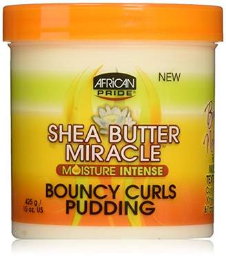 African Pride Shea Butter Miracle Bouncy Curls Pudding 425 g