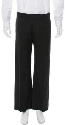 Christian Dior Flat Front Super 100'S Wool Pants