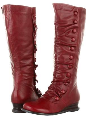 Miz Mooz Bloom Wide Calf Women's Zip Boots