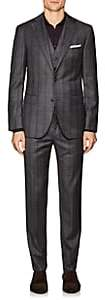 Pal Zileri MEN'S WOOL THREE-PIECE SUIT-GRAY SIZE 40 R