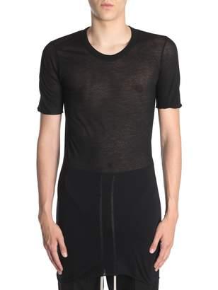 Rick Owens Round Collar T-shirt