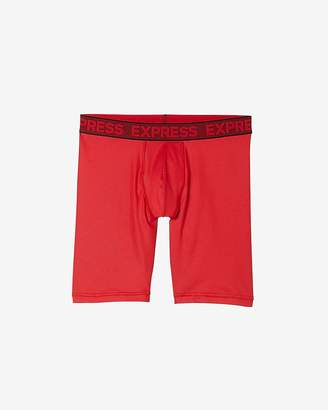 Express Printed Performance Extended Boxer Briefs
