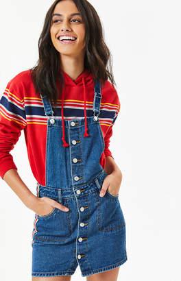 PacSun Button Front Side Stripe Dress