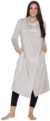 Anybody AnyBody Loungewear Frosted Fleece Cascade Front Maxi Cardi
