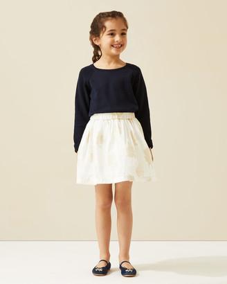 Jigsaw Jacquard Floral Occasion Skirt