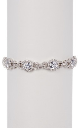 NADRI CZ Round Link Bracelet $100 thestylecure.com