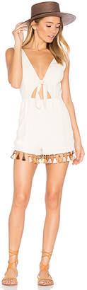 Tularosa x REVOLVE Ringle Romper in Cream $168 thestylecure.com
