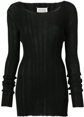 Maison Margiela mid-length ribbed sweater
