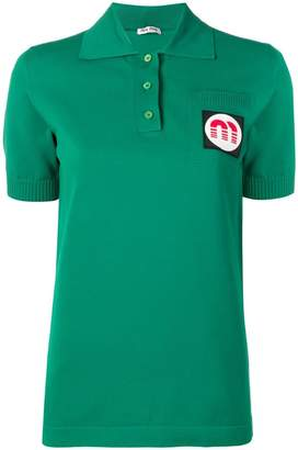 Miu Miu basic polo shirt
