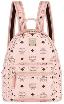 MCM Mini Studded Outline Stark Backpack