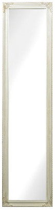 "One Kings Lane Debbie 15""x63"" Floor Mirror - White"