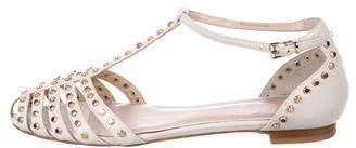 Lola Cruz Studded Leather Sandals