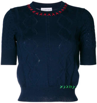 Carven knit top