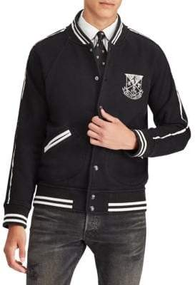 Polo Ralph Lauren Crew Graphic Fleece Bomber Jacket