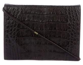 Walter Steiger Embossed Leather Crossbody Bag