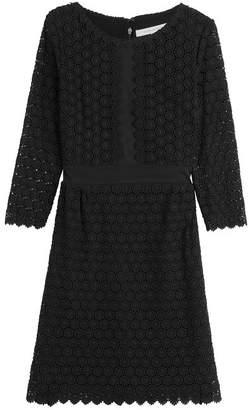 Diane von Furstenberg Embroidered Cotton Dress
