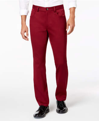 INC International Concepts I.n.c. Men's Shiny Slim-Fit Stretch Pants
