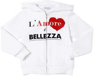 Dolce & Gabbana Amore È Bellezza Cotton Sweatshirt