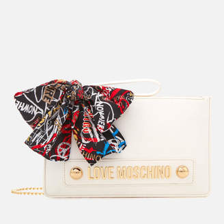 Love Moschino Women's Small Zip Pouch Bag