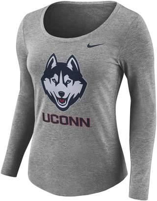 Nike Women's UConn Huskies Logo Graphic Tee