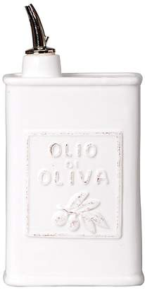 Vietri Lastra White Olive Oil Can