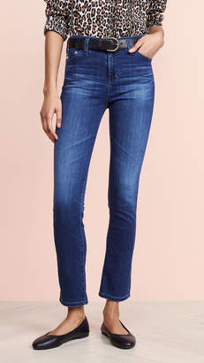 AG Jeans The Mari High Rise Slim Straight Jeans