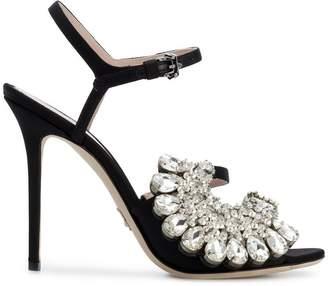 Paula Cademartori crystal embellished sandals