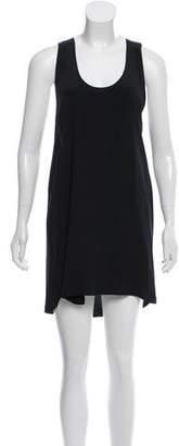 Karen Zambos Sleeveless Silk Dress