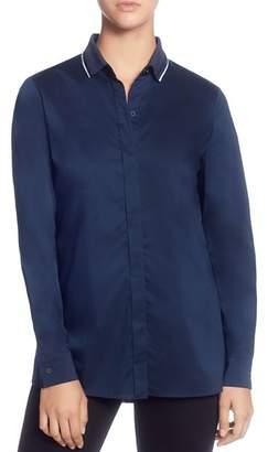 T Tahari Back-Stripe Shirt