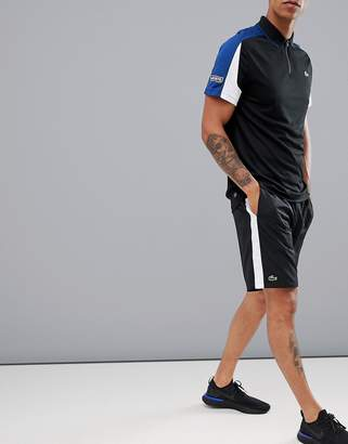 Lacoste Sport running shorts in black