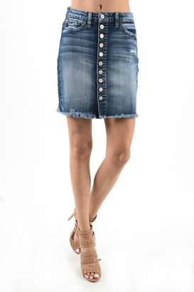 Kan Can Button Up Skirt