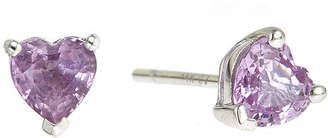 FINE JEWELRY LIMITED QUANTITIES Heart-Shaped Genuine Pink Sapphire Earrings