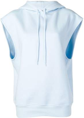 Courreges sleeveless hoodie