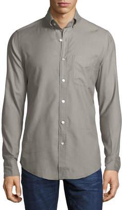 Tom Ford Solid Twill Sport Shirt