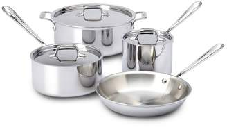 All-Clad 7 Piece Stainless Steel Cookware Set