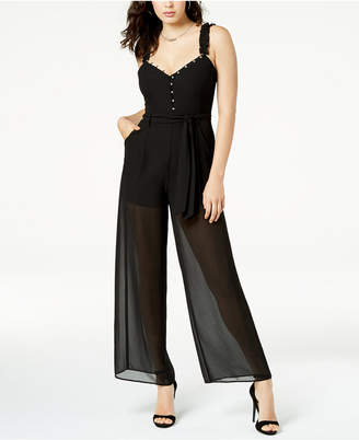 GUESS Darlene Illusion Jumpsuit