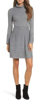 Eliza J Turtleneck Sweater Dress