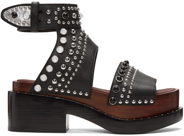 3.1 Phillip Lim3.1 Phillip Lim Black Nashville Platform Sandals
